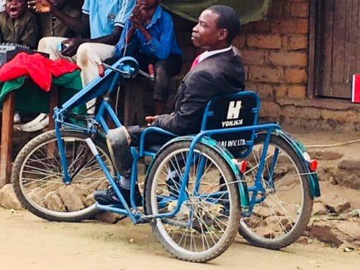 Tanzania ATV Wheelchairs