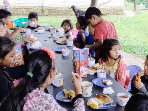 Breakfast for Children in Bolivia
