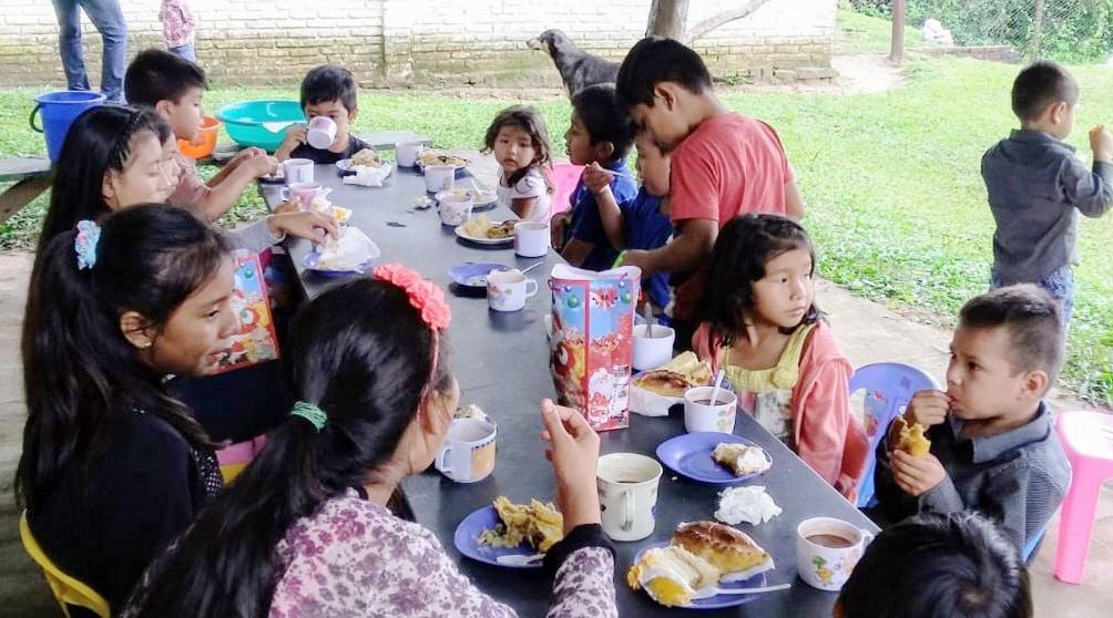 Breakfast for Children in Bolivia