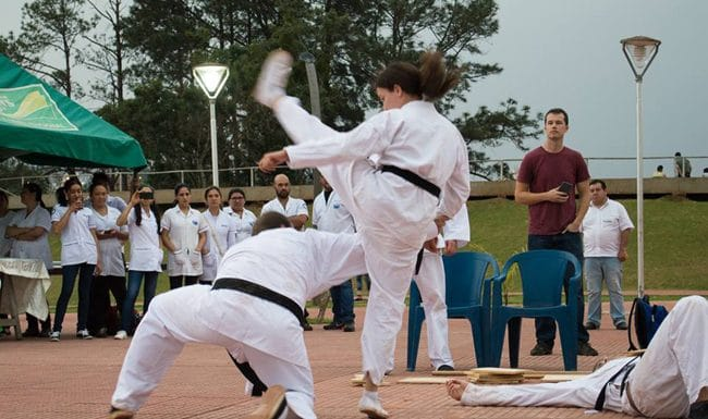 Sharing God's Grace using Taekwondo