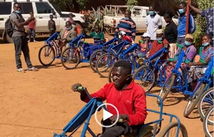 ATV Wheelchair Distribution Update