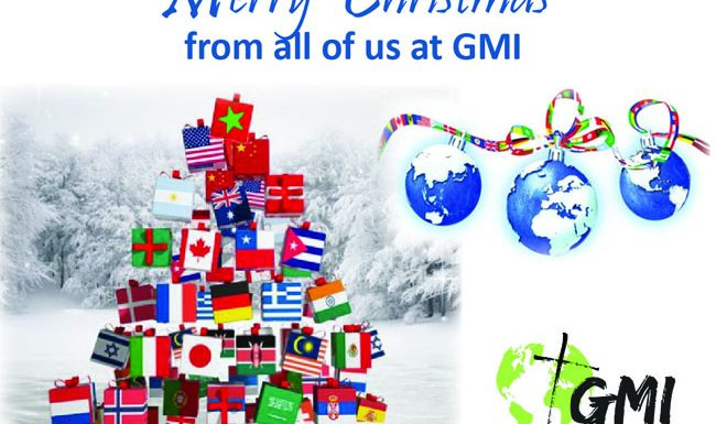 Merry Christmas and Happy New Year from GMI
