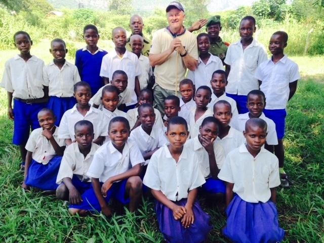 Nsanga Village Primary School Classroom
