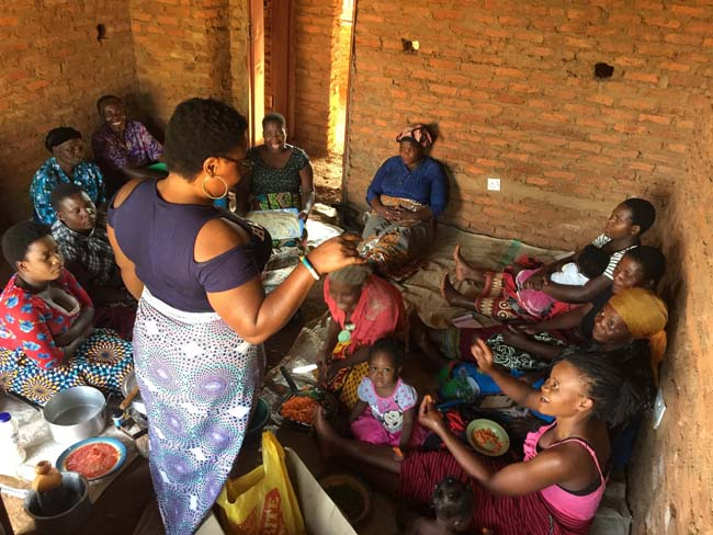 Business Training and Cooking in Malawi