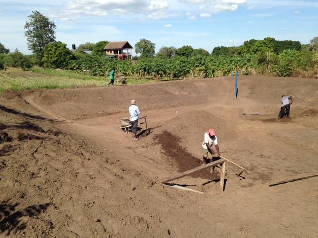 Fish Pond Nsanga Village Agricultural Center