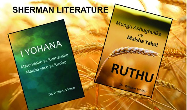 Two More Books Finished in Tanzanian Swahili