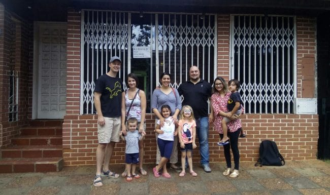 A Walk in a Neighborhood of Ciudad del Este