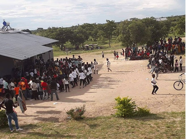 Outreach Ministry in Zambia