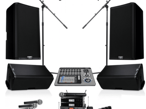 Sound Equipment for Church – Costa Rica