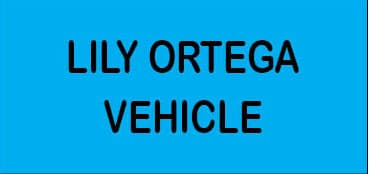Lily Ortega Vehicle