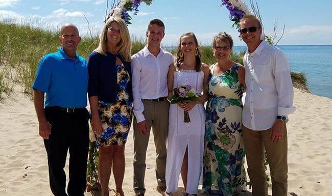 Congratulations, Mr. and Mrs. Mackensen!