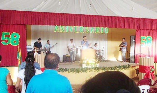 58th Anniversary in Bolivia