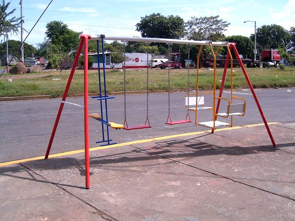Swing Set for Nicaragua